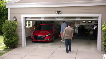 Dodge TV Spot, 'Don't Touch My Dart: Garage Door, Mmmm' Ft. Craig Robinson - Thumbnail 3