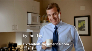 Extended Stay America TV Spot, 'Bathroom Coffee' Song by Twisted Sister - Thumbnail 10