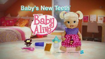 Hasbro TV Spot For Baby Alive: Baby's New Teeth