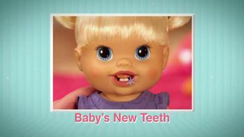 Hasbro TV Spot For Baby Alive: Baby's New Teeth - Thumbnail 5