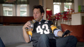 Madden NFL 13 TV Spot, 'Paul vs. Ray Steelers Jersey' - 24 commercial airings