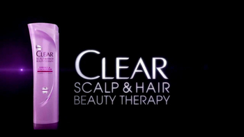 Clear Hair Care TV Spot For Scalp & Hair Beauty Therapy