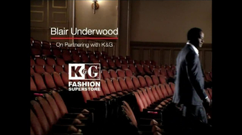 K&G Fashion Superstore TV Spot Featuring Blair Underwood - Thumbnail 2