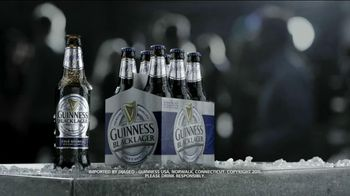 Guiness TV Spot For Blacklager Refreshing And Flavorful Beer - 133 commercial airings