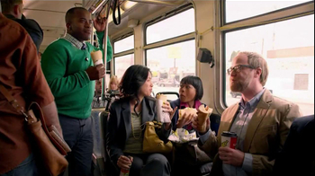 Subway Egg White & Cheese With Avocado TV Spot, 'Bus' - Thumbnail 1