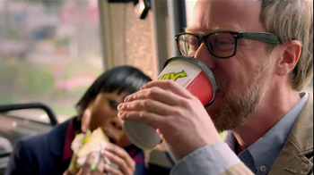 Subway Egg White & Cheese With Avocado TV Spot, 'Bus' - Thumbnail 2