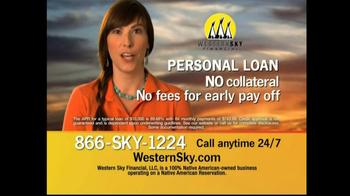 Western Sky Financial  TV Spot, '$10,000 in a Day' - Thumbnail 3