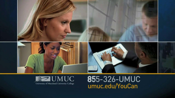 University of Maryland University College TV Spot For You Can  - Thumbnail 6