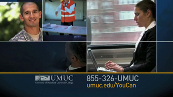 University of Maryland University College TV Spot For You Can  - Thumbnail 7