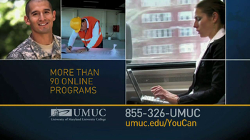 University of Maryland University College TV Spot For You Can  - Thumbnail 8