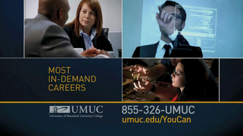 University of Maryland University College TV Spot For You Can  - Thumbnail 9
