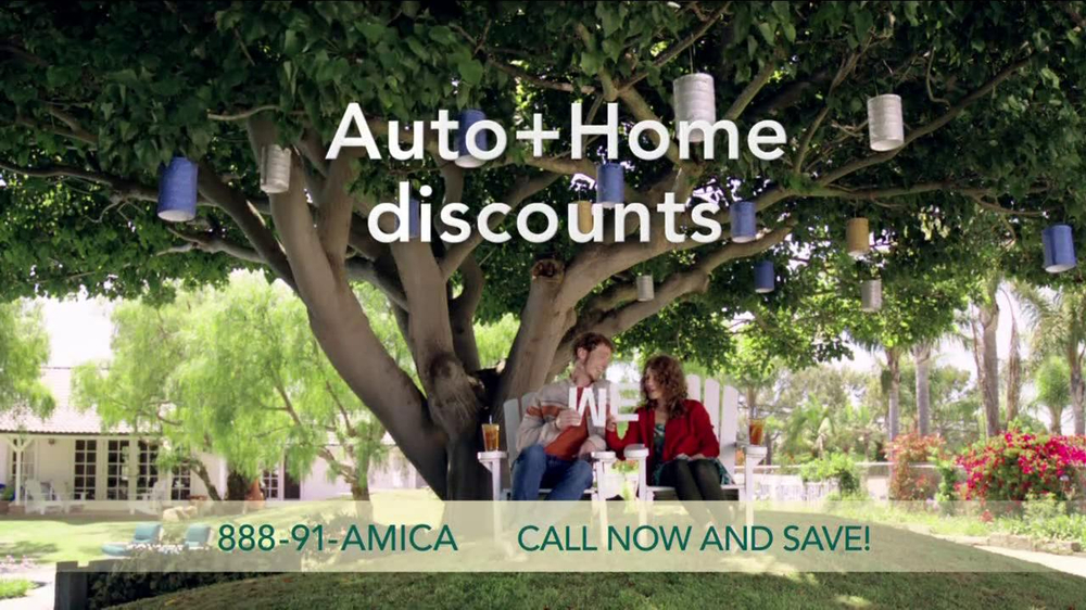 Amica Mutual Insurance Company TV Commercial, 'Auto and Home'