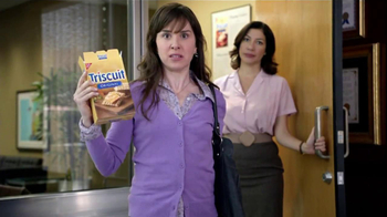 Triscuit TV Spot, 'Angry Satisfied Customer' - 71 commercial airings