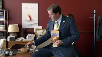 Triscuit TV Spot For Angry Satisfied Customer - Thumbnail 6