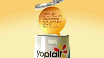 Yoplait Light Banana Cream Pie TV Spot, 'Kelly's Tweet' - Thumbnail 2