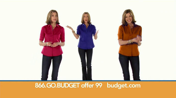 Budget Rent a Car TV Spot Featuring Wendie Malick - Thumbnail 4