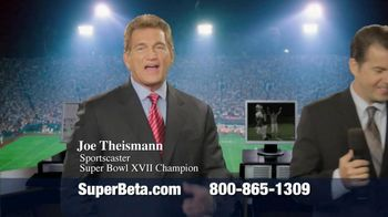Super Beta Prostate TV Spot Featuring Joe Theismann - Thumbnail 1