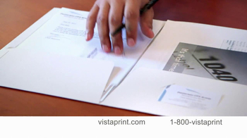 Vistaprint TV Spot For Premium Business Cards - Thumbnail 4