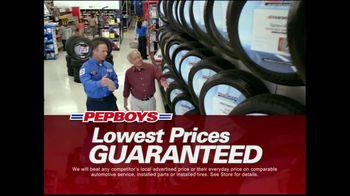 PepBoys TV Spot For Million Tire Marathon