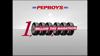 PepBoys TV Spot For Million Tire Marathon - Thumbnail 2