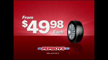 PepBoys TV Spot For Million Tire Marathon - Thumbnail 3