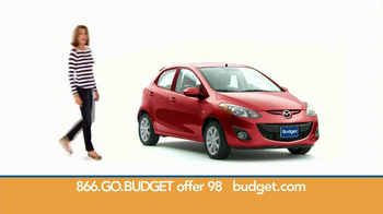 Budget Rent a Car TV Spot For Clever Compact Car Featuring Wendie Malick - Thumbnail 5