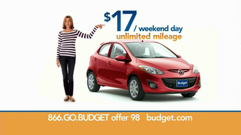 Budget Rent a Car TV Spot For Clever Compact Car Featuring Wendie Malick - Thumbnail 6