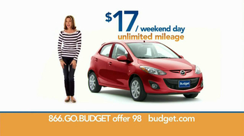 Budget Rent a Car TV Spot For Clever Compact Car Featuring Wendie Malick - Thumbnail 7