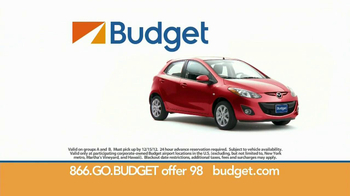 Budget Rent a Car TV Spot For Clever Compact Car Featuring Wendie Malick - Thumbnail 8