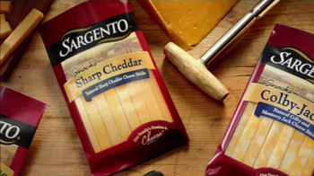 Sargento TV Spot For Real Cheese Snacks