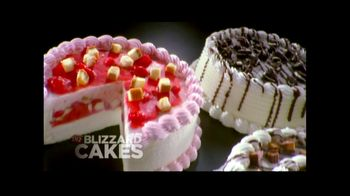 Dairy Queen TV Spot For Blizzard Cakes