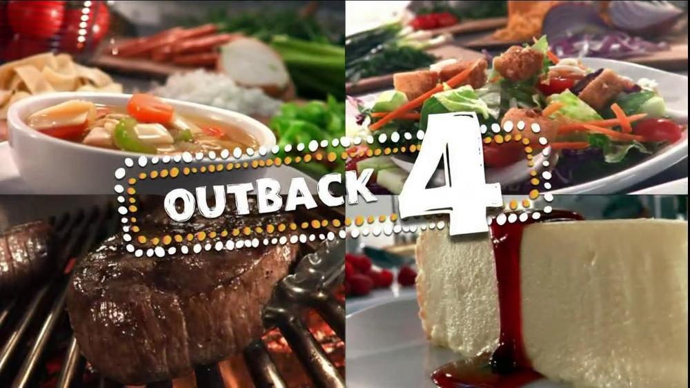 Outback 4 Menu TV Spot