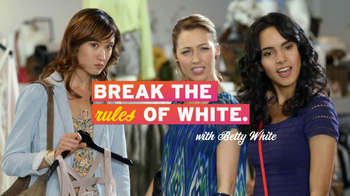 Tide Vivid TV Spot, 'Rules of White' Featuring Betty White - Thumbnail 6