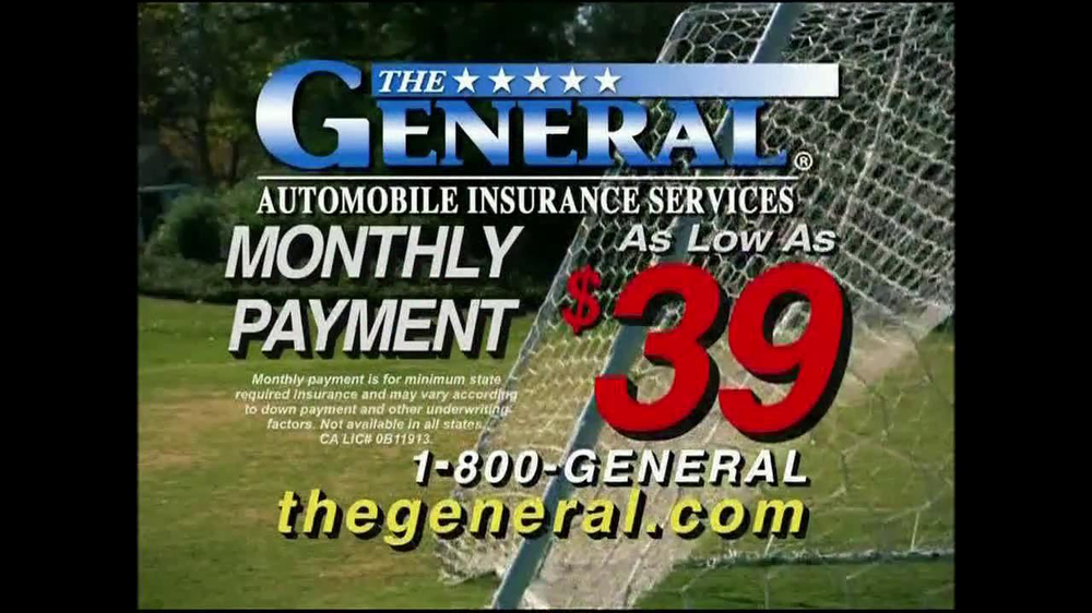 The General Tv Commercial Soccer Ispottv