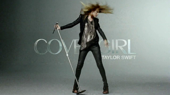 CoverGirl Blast Flipstick TV Spot, 'Flip Your Look' Featuring Taylor Swift - 307 commercial airings