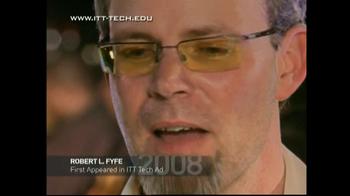 ITT Technical Institute TV Spot Reunion With Robert Fyfe - Thumbnail 2