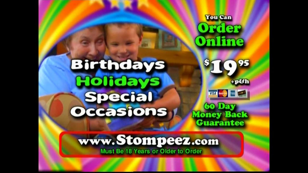 Stompeez TV Commercial For Animal Slippers