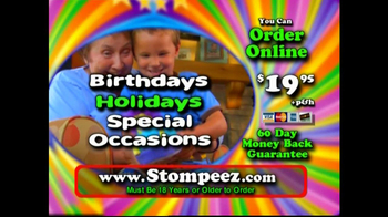 Stompeez TV Spot For Animal Slippers