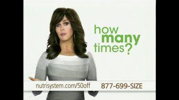 Nutrisystem TV Spot, 'Finding A Program That Works' - 47 commercial airings