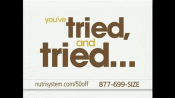 Nutrisystem TV Spot, 'Finding A Program That Works' - Thumbnail 7
