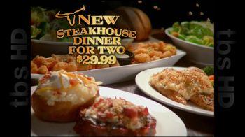 Longhorn Steakhouse TV Spot For Steakhouse Dinner For Two