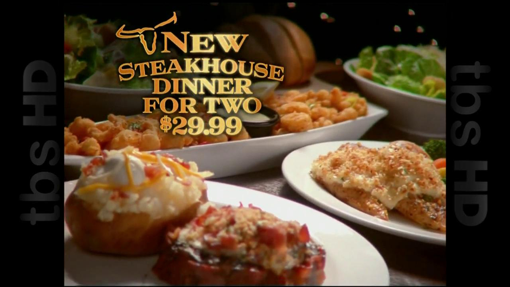 Longhorn Steakhouse TV Commercial For Steakhouse Dinner For Two   ISpot.tv