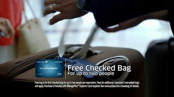 Chase United MileagePlus Explorer Card TV Spot - Thumbnail 2