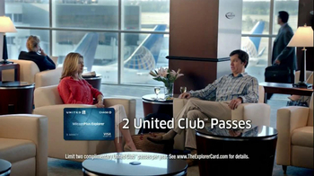Chase United MileagePlus Explorer Card TV Spot