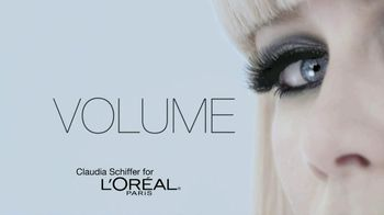L'Oreal 24-Hour Power Volume Mascara TV Spot Featuring Claudia Schiffer