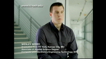 ITT Technical Institute TV Spot For Wesley