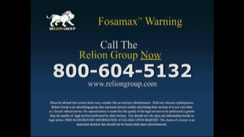 Relion Group TV Spot For Fosamax - Thumbnail 9