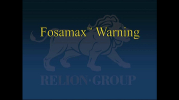 Relion Group TV Spot For Fosamax - Thumbnail 1
