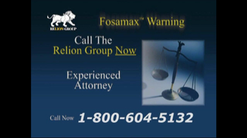 Relion Group TV Spot For Fosamax - Thumbnail 5