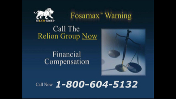 Relion Group TV Spot For Fosamax - Thumbnail 7